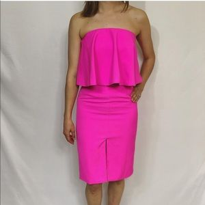 DO + BE Pink Strapless Dress